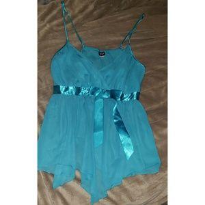 Turquoise sexy babydoll